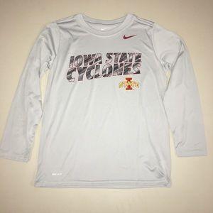Nike Dri-Fit Iowa State Cyclones Gray Medium
